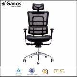 Director ergonómico silla de cuero del alto diseño posterior