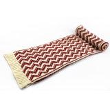 Unisex шарф печатание волны зимы теплым смешанный цветом тяжелый связанный (SK168)