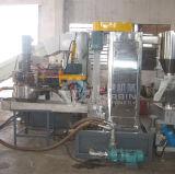 El reciclaje de film extrusionadora de un solo husillo de la línea de peletización