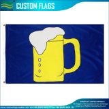 Festival de jarra de cerveza la bandera de poliéster 3X5FT