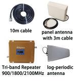 工場三バンド2g 3G 4G Lteシグナルの中継器かアンプまたはブスター