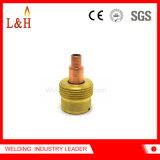 Gas-Objektiv-Futter-Karosserie des großen Durchmesser-45V64s für TIG-Fackel