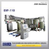 Mousse du matelas Exf-110 faisant la machine