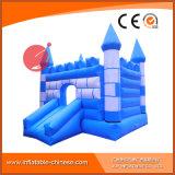 Princesa azul Inflatable Jumping Castle para el partido de los cabritos (T2-004)