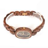 OEM/ODM Horloges Van uitstekende kwaliteit van Wirst van het Kwarts van de Vervaardiging van de Fabriek van het Horloge de Natuurlijke Houten