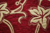 赤いシュニールのジャカードパターン家具製造販売業ファブリック