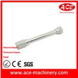 Partie d'usinage CNC de rouleau en acier inoxydable
