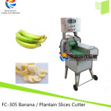 Máquina de estaca quente do Plantain da fruta da venda 2017, cortador do Slicer da banana