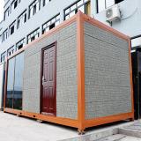 콘테이너 주택건설 모듈 조립식 가벼운 강철 ISO 편평한 팩 콘테이너 집