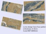 艶をかけられた磨かれた陶磁器の壁のタイル(H918D012XP)