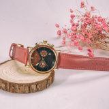 Первоначально хронограф 3ATM японии делает деревянный вахту водостотьким людей Wristwatches