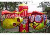 아이들 위락 공원 교체 비행기 소형 사육제는 탄다 (DJ20140501)