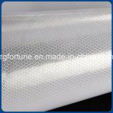 Bianco di rivestimento riflettente dell'argento dell'autoadesivo del favo del Rolls del vinile di vendita diretta della fabbrica