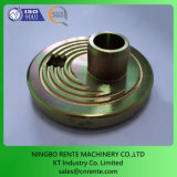 Production CNC Metal Machining parts measured