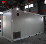 プレハブの輸送箱の家または新居の計画か容器のホーム