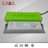 Quadratischer Flachbildschirm-Notleuchte des Umlauf-LED