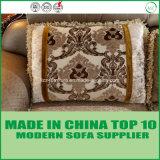 Base di sofà sezionale del tessuto classico europeo di stile
