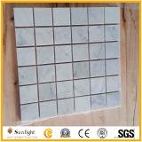 Blanc/Cuisine/Salle de bains en marbre noir de mosaïques de sol et mur