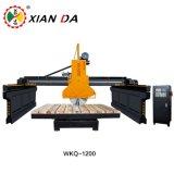 Wkq-1200 de midden Scherpe Machine van de Steen van de Zaag van de Brug voor Marmeren Graniet
