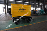 ウーシーのディーゼル機関を搭載する移動中国携帯用および容易な350kwの移動式電気発電機