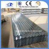 鋼鉄物質的な屋根ふきのためのAlu亜鉛によって塗られる電流を通された鋼板