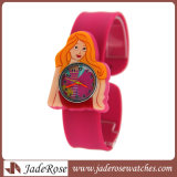 "Caricature d'enfants"" regardent Cute montre-bracelet en silicone Fashion garçons Kids montres quartz étudiant don de l'horloge de sport"