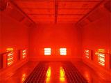 Cabina de aerosol roja infrarroja aprobada de la pintura del coche del secador de la onda del Ce