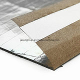 arpillera de goma acústica adhesiva de plata de 2.8m m para la madera y los suelos laminados