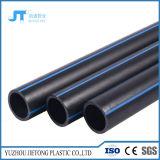 Pipes noires de plastique de l'eau de HDPE de la pipe Pn10 NA 16 de polyéthylène de pipe du HDPE ISO9001