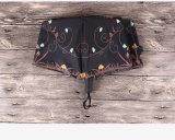 Ombrello aperto di volta del manuale di disegno tre del gufo