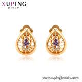95054 Xuping моды Earring выдвижных дуг для женщин, 18K золотых ювелирных изделий