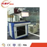 La prensa y los aparatos dominantes precisan la máquina ULTRAVIOLETA de la marca del laser del vector