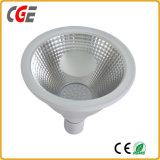 Le lampadine del LED impermeabilizzano le lampade impermeabili di Downlight LED della PANNOCCHIA della lampadina della PANNOCCHIA IL LED PAR38 di IP65 3000K 4000K