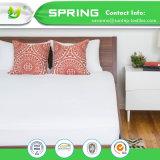 Hoja ajustada protector impermeable anti del colchón del algodón de Terry de la alergia, base de la choza