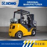 XCMG 1.8トンの小さいフォークリフトガソリン及びLPGのガスのフォークリフト