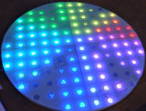 Secteur spécial forme unique étape de mariage de l'éclairage LED RVB de plancher de danse
