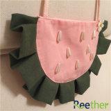 Mädchen-handgemachte nette kleine Schulter-Beutel Chage Mappen-Kind-scherzt netter Wassermelone-Fonds Münzen-Beutel