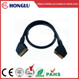 21p черный кабель Scart (СИ015)