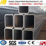 Rechteckiges Rohr-Stahlgefäß-schwarzes Quadrat-Stahlrohr