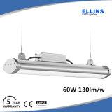 5year indicatore luminoso esterno 60W della Tri-Prova della garanzia IP65 130lm/W SMD LED