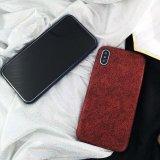 Superfície fosca Retro luxo Soft PU estojo de couro de telefone celular