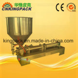 半自動空気の液体の充填機の/Pasteの装飾的な充填機