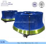 Mangan-Stahl Sandvik CS820 konkav und Umhang-Kegel-Zerkleinerungsmaschine-Teile