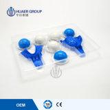 Masilla dental de la impresión del silicón del cartucho rápido material del conjunto del registro de la mordedura