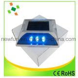 Espárrago solar reflexivo de aluminio del camino de los ojos de gato del alto brillo LED