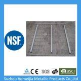 Цинковым покрытием стальная сетка шельфа провод дека для поддона для установки в стойку