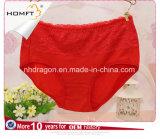 Le MI Lacework de coton de taille donne des instructions culottes de filles de Panty de fille mignonne de jolies