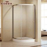 Os perfis de alumínio de duche com ABS pega redonda (K-336)