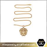 Le micro de la CZ pavent les hommes pendants principaux Mjhp058 de modèles de lion