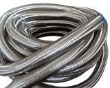 Gainer tressé d'isolation d'acier inoxydable de température élevée/boyau